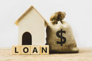 Home loan, mortgage, home insurance, financial mortgage for house concept